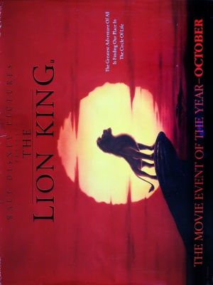 The Lion King 1063x1417