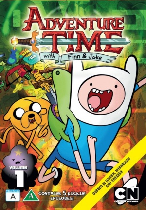 Adventure Time with Finn & Jake 489x700