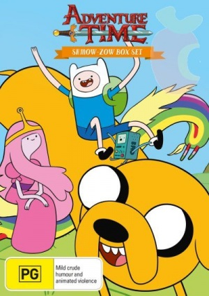 Adventure Time with Finn & Jake 400x564
