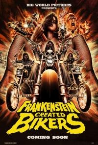 Frankenstein Created Bikers poster