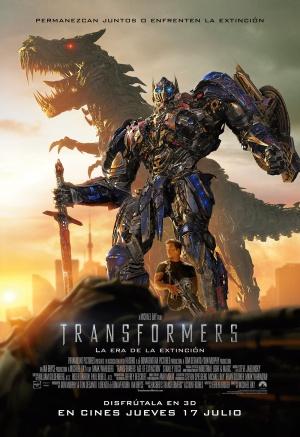 Transformers: La era de la extinción 1000x1458