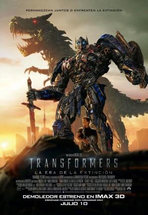 Transformers: La era de la extinción 1024x1493