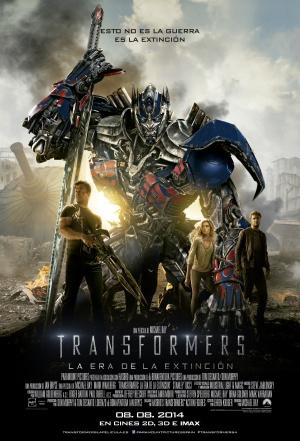 Transformers: La era de la extinción 3400x5000