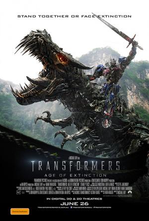 Transformers: La era de la extinción 500x740