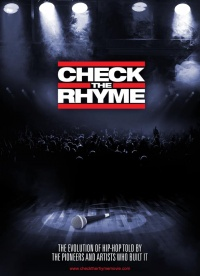 Check the Rhyme poster