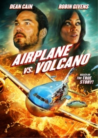 Airplane vs. Volcano poster