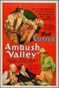 Ambush Valley poster