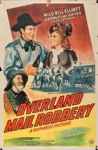 Overland Mail Robbery poster