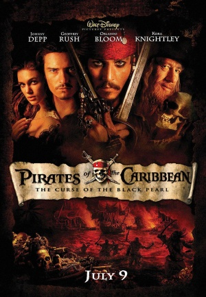 Pirates of the Caribbean: The Curse of the Black Pearl 1108x1600