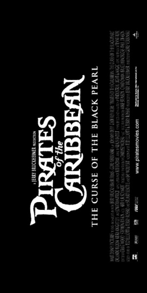Pirates of the Caribbean: The Curse of the Black Pearl 394x783