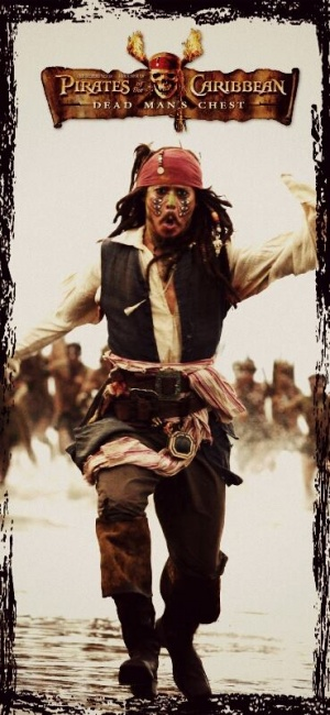 Pirates of the Caribbean: Dead Man's Chest 369x799