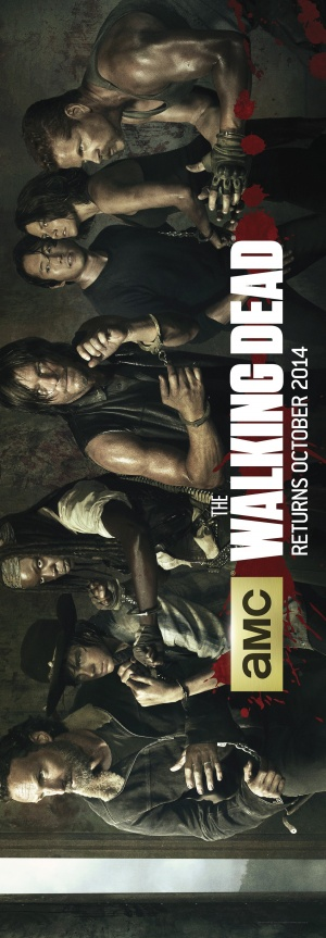 The Walking Dead 1200x3450
