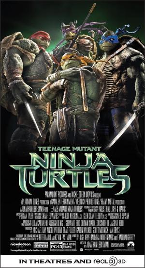 Teenage Mutant Ninja Turtles 1000x1841