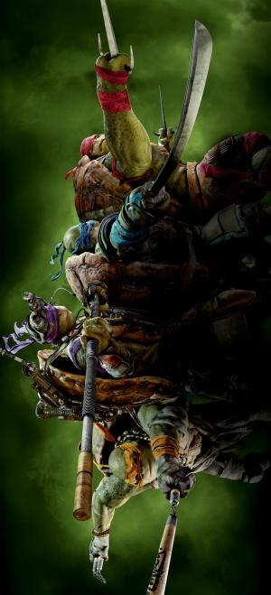 Teenage Mutant Ninja Turtles 2275x5000