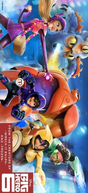 Big Hero 6 892x1950