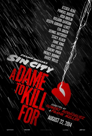 Sin City: A Dame to Kill For 3375x5000