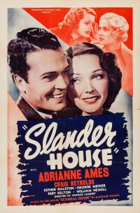 Slander House poster