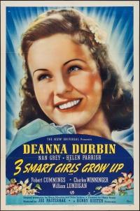 Three Smart Girls Grow Up poster