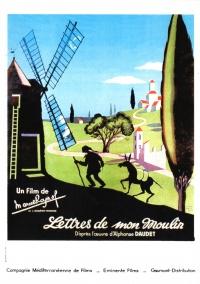 Les lettres de mon moulin poster