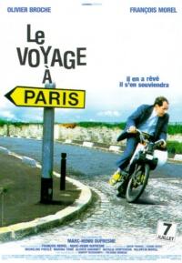 Le voyage à Paris poster