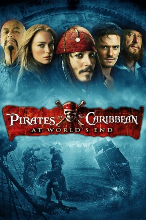 Pirates of the Caribbean: At World's End 1000x1500