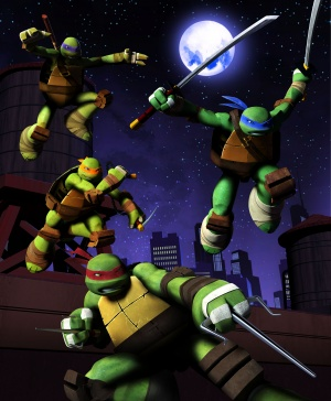 Teenage Mutant Ninja Turtles 4118x5000