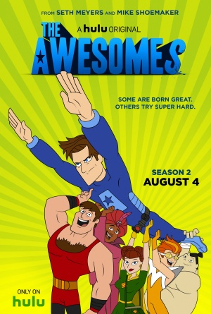 The Awesomes 2404x3562