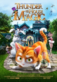 The House of Magic 3D poster