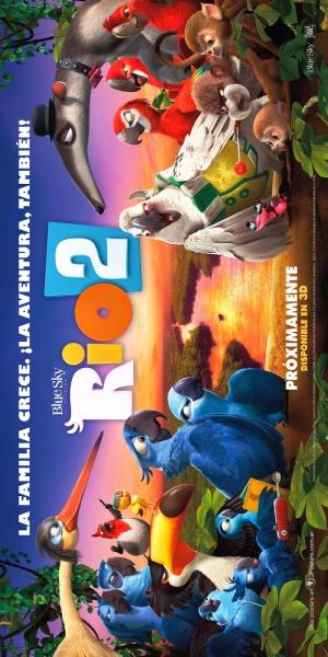 Rio 2 - Dschungelfieber 800x1600