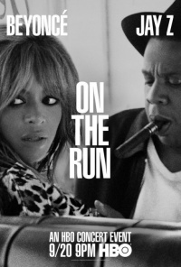 On the Run Tour: Beyonce and Jay Z poster