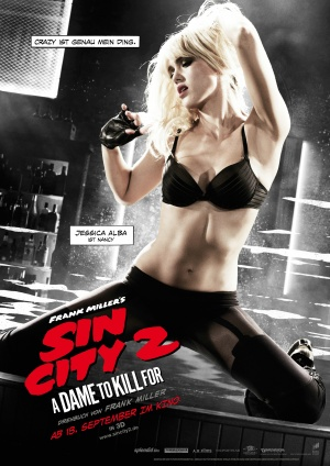 Sin City: A Dame to Kill For 2480x3508