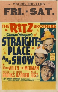 Straight Place and Show poster