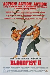 Bloodfist II poster