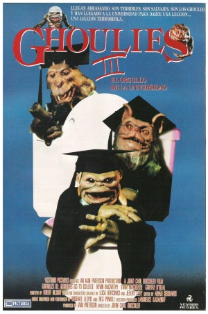 Ghoulies III: Ghoulies Go to College 1512x2279