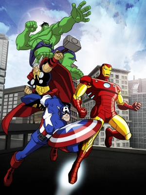 The Avengers: Earth's Mightiest Heroes 1945x2598