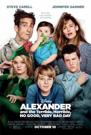 Alexander and the Terrible, Horrible, No Good, Very Bad Day 1688x2500