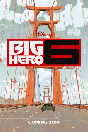 Big Hero 6 1000x1500