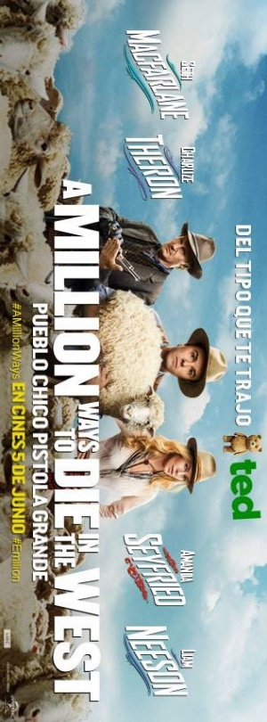 A Million Ways to Die in the West 316x853