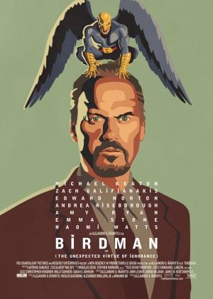 Birdman oder (Die unverhoffte Macht der Ahnungslosigkeit) 3566x5000