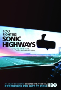 Sonic Highways poster