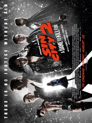 Sin City: A Dame to Kill For 3000x4000