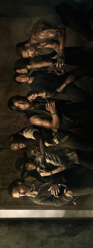 The Walking Dead 1875x5000