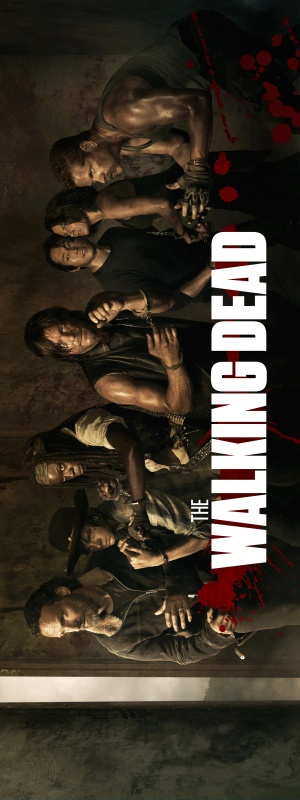 The Walking Dead 1875x5000