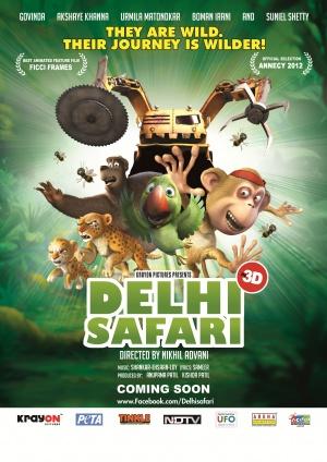 Delhi Safari 3508x4961