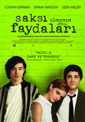 The Perks of Being a Wallflower 591x843
