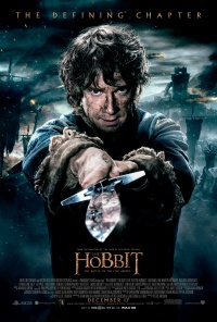 The Hobbit: There and Back Again poster