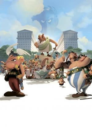 Asterix im Land der Götter 3550x5000