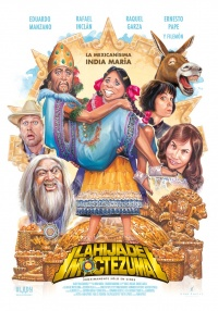 La hija de Moctezuma poster