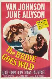 The Bride Goes Wild poster