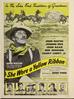 She Wore a Yellow Ribbon 701x930